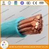 câble en nylon de la jupe Thhn/Thwn de Weith du conducteur 2AWG d'isolation de cuivre de PVC