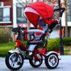 El triciclo de niños de múltiples funciones superior embroma el triciclo del bebé
