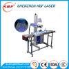 Erstklassige bewegliche Faser 30W u. CO2 Metallnichtmetall-Fliegen-Laser-Markierungs-Maschine für Nahrungsmittelpaket
