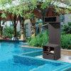 Al aire libre de mimbre / rota piscina Gabinete (LN-705)