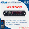 Placa do decodificador MP3 com Bluetooth