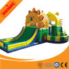 Château gonflable de videur de lion coloré de prix usine pour des enfants