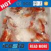 Máquina de hielo comercial fácil de la mezcla de la refrigeración por agua del transporte
