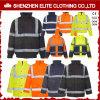 Vêtements de travail r3fléchissants d'usine d'électricien de jaune en gros de mécanicien (ELTHJC-459)