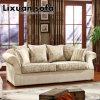 アメリカのソファーは居間セットのためのベージュカラーでセットした