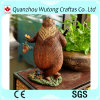 Estatuillas al por mayor animales del oso de la resina de la decoración casera americana creativa