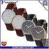 Populärste elegante Qualität des Entwurfs-Yxl-570 bunte Genunie lederne Brücke-Mann-Uhr