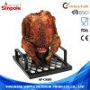 판매를 위한 직사각형 스테인리스 닭 목탄 로스트오븐