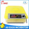 48 automáticos cheios mini chocadeira barata da incubadora do ovo (YZ8-48)