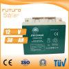 Vert de batterie rechargeable de panneau solaire de la batterie d'acide de plomb 12V 40ah de Futuresolar