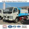camion laterale semiautomatico del costipatore dell'immondizia del deposito della parte posteriore di caricamento dell'euro 4 di 5cbm Dongfeng