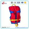 Красный спасательный жилет ребенка цвета 100n стандартный с Whistal