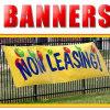 Segni su ordinazione della bandiera del vinile di colore completo di pubblicità esterna