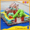 Castillo de salto de la granja feliz inflable (AQ0139-1)