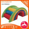 Il PVC dell'interno del Rainbow del giocattolo molle della scala scherza il centro del gioco