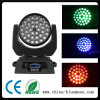 36 * 10W RGBW 4in1 LED multicolor Cabeza móvil Spot Light