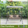 余暇の庭の家具の柳細工のテラスの藤の振動椅子