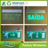 Le verre trempé allume le signe acrylique d'éclairage LED d'étiquette