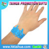 Wristband oco feito sob encomenda popular do bracelete do silicone/silicone