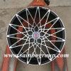 Borda de alumínio F60289 da roda do carro de Hre da réplica de Advan