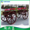 Public Applications (FY-007B)를 위한 옥외 Solid Wood Flower Cart