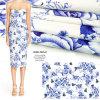Напечатанная ткань одежды тканья дома платья жаккарда