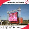 Videodarstellung-Wand im Freienbekanntmachensled P10 RGB LED