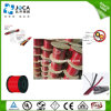 Câble simple de signal d'incendie rouge d'écran protecteur de qualité avec du ce