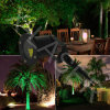 星の形レーザーのクリスマスの照明の屋外の庭ライト