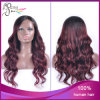 Ombre 1b#/99j# slaccia la parrucca piena del merletto dei capelli del Virgin di Peruvain dell'onda