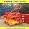 Bewegliche mobile konkrete feste Block-Maschine mit Dieselöl-Motor