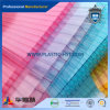 PC Transparent Polycarbonate Hollow Sheet avec Protection UV
