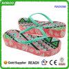 Il cuneo di modo spostato progetta i sandali per il cliente dell'alto tallone (RW29386)