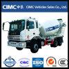 Carro del mezclador concreto de JAC 9m3