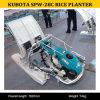 Transplantoir Spw-28c, planteur de riz de Kubota, transplantoir de riz de main de la Chine Kubota de riz avec 2 rangées