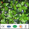 신제품은 쉽게 정원을%s UV 인공적인 회양목 산울타리를 조립했다