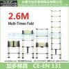 2.6m Single Telescopic Ladder