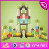 Nagelneues hölzernes 2015 Baustein-Spielzeug, hölzerner Block-Spielzeug-Set, hölzernes Baustein-Vorschulspielzeug W13A082