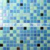 плитка мозаики голубого смешивания 20X20mm Горяч-Плавя стеклянная для бассеинов (BGE010)