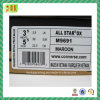 Etiqueta autoadhesiva de papel del código de barras del zapato