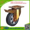 産業伸縮性があるゴム製足車の車輪