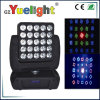 25PCS 12W RGBW СИД Moving Head Matrix Light