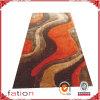 Tapis 100% Shaggy de Muti-Structure de région de polyester fabriqué à la main de couverture