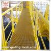 FRP/GRP/Fiberglass moldeado Grating para Platform