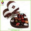 Contenitore di carta impaccante di regalo del cioccolato Heart-Shaped