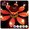 Bougie tournante d'anniversaire avec la chanson musicale d'anniversaire/bougies Decorativas d'anniversaire