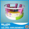 Parque de atracciones eléctrico colorido de la silla del empuje fijado (QL-3009F)