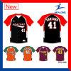 Vêtement uniforme de sublimation de Healong de qualité de Jersey bon marché faits sur commande de base-ball