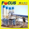 Planta de procesamiento por lotes por lotes concreta completamente automática de la alta calidad Hzs90
