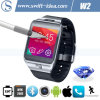 Smart Bluetooth 4.0 2.0MP Camera Phone Call Mobile Watch with Full Function (W2)